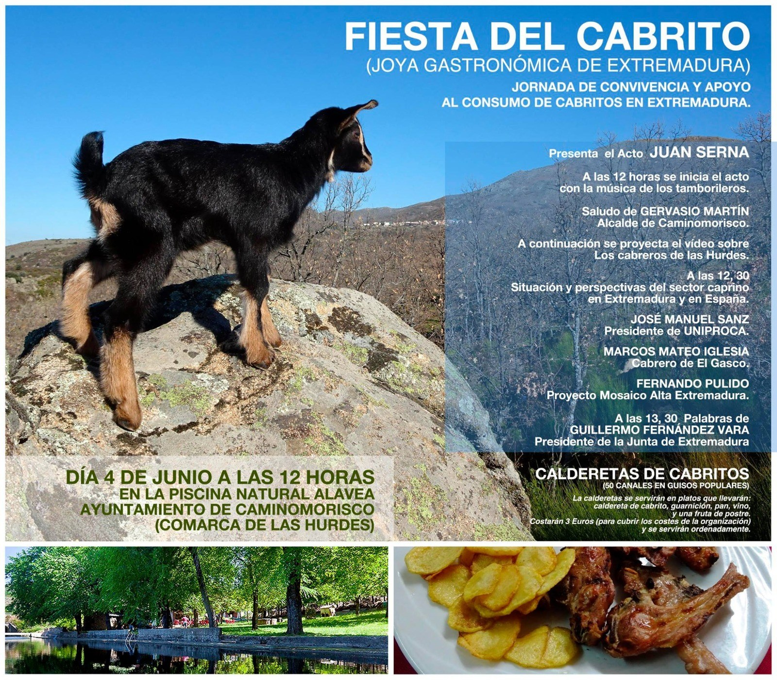 I Fiesta del cabrito -2017 - Tasting Extremadura